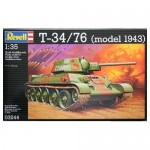 Model do sklejenia Revell  czołg skala 1:35 T-34/76