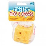 Myszki w serze Stretchy Mice & Cheese gniotek squishy