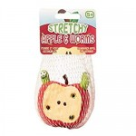 Robaczki w jabłku Stretchy Apple & Worms gniotek squishy