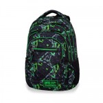 Plecak Coolpack COLLEGE Tech 25L ELECTRIC GREEN