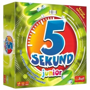 Gra  5 SEKUND Junior Trefl