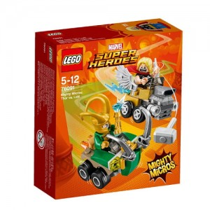 LEGO SUPER HEROES 76091 MIGHTY MICROS